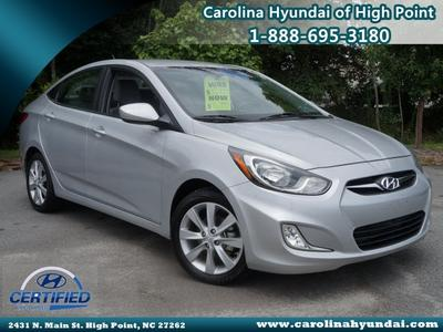2013 Hyundai Accent GLS Sedan for sale in High Point for $13,995 with 38,589 miles.