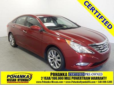 2012 Hyundai Sonata SE 2.0T Sedan for sale in Fredericksburg for $17,999 with 34,698 miles.