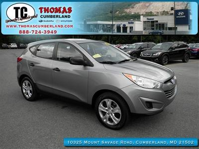 2010 Hyundai Tucson GLS SUV for sale in Cumberland for $13,996 with 46,063 miles.