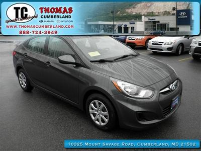 2012 Hyundai Accent GLS Sedan for sale in Cumberland for $13,675 with 29,701 miles.