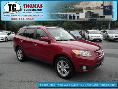 2011 Hyundai Santa Fe Limited SUV for sale in Cumberland for $21,255 with 29,769 miles.