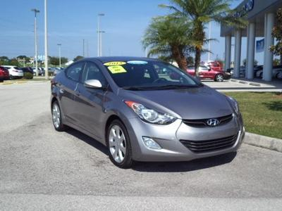 2012 Hyundai Elantra Limited Sedan for sale in Winter Haven for $17,000 with 27,381 miles.