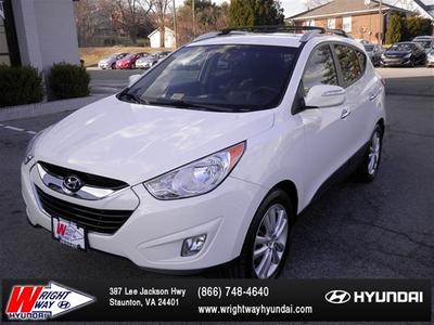 2012 Hyundai Tucson Limited SUV for sale in Staunton for $20,988 with 50,219 miles.