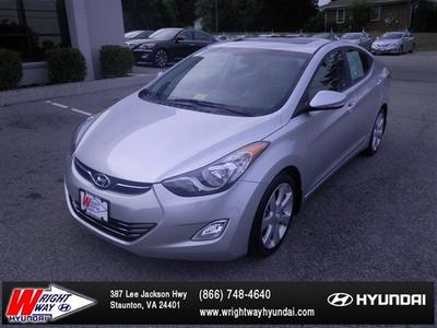 2013 Hyundai Elantra Limited Sedan for sale in Staunton for $20,988 with 9,009 miles.