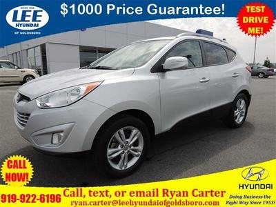 2013 Hyundai Tucson GLS SUV for sale in Goldsboro for $18,526 with 38,359 miles.