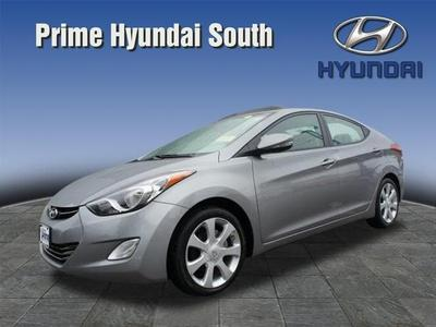 2012 Hyundai Elantra Limited Sedan for sale in Quincy for $15,999 with 26,075 miles.