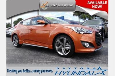 2014 Hyundai Veloster Hatchback for sale in Daytona Beach for $20,377 with 3,685 miles.
