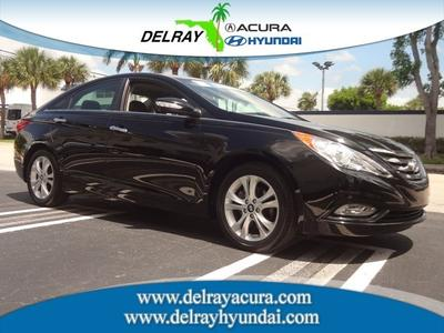2011 Hyundai Sonata Limited Sedan for sale in Delray Beach for $16,495 with 33,654 miles.