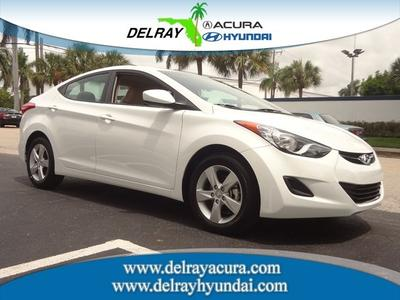 2013 Hyundai Elantra GLS Sedan for sale in Delray Beach for $17,477 with 1,334 miles.