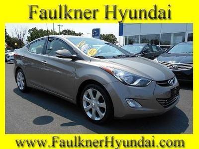 2012 Hyundai Elantra Limited Sedan for sale in Philadelphia for $16,694 with 34,191 miles.