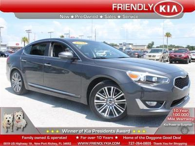 2014 Kia Cadenza Premium Sedan for sale in New Port Richey for $28,995 with 9,147 miles.