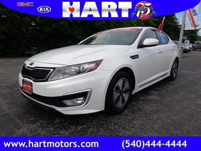 2012 Kia Optima Hybrid EX Sedan for sale in Salem for $19,450 with 21,413 miles.