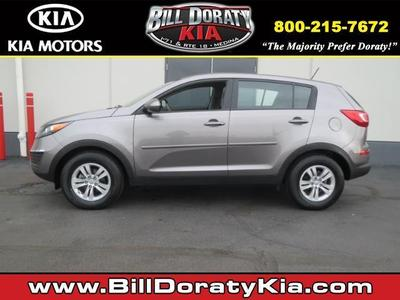Kia Sportage From A Car Lot In Medina OH