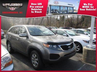 2012 Kia Sorento LX SUV for sale in Greensboro for $19,500 with 41,501 miles.