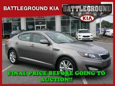 2013 Kia Optima EX Sedan for sale in Greensboro for $25,000 with 9,090 miles.
