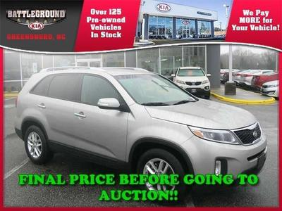 2014 Kia Sorento LX SUV for sale in Greensboro for $23,000 with 29,700 miles.