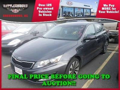 2011 Kia Optima SX Sedan for sale in Greensboro for $24,000 with 22,950 miles.