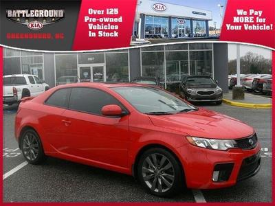 2013 Kia Forte Koup SX Coupe for sale in Greensboro for $20,000 with 27,251 miles.
