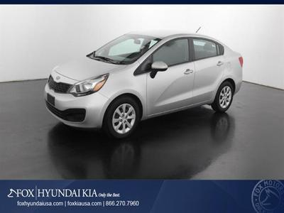 2012 Kia Rio LX Sedan for sale in Grand Rapids for $13,000 with 37,794 miles.