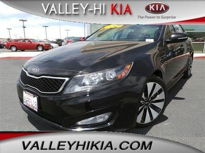 2012 Kia Optima SX Sedan for sale in Victorville for $22,995 with 43,902 miles.