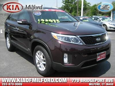 2014 Kia Sorento LX SUV for sale in Milford for $22,704 with 18,360 miles.