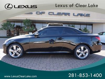 2011 Lexus IS 250C Base Convertible for sale in Houston for $34,995 with 31,105 miles.