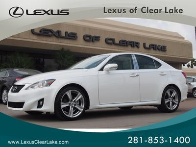 2011 Lexus IS 250 Base Sedan for sale in Houston for $33,995 with 16,820 miles.