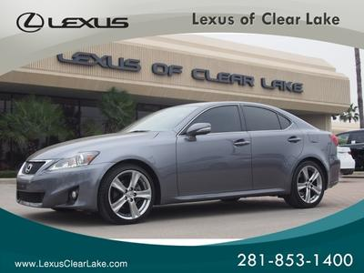 2012 Lexus IS 250 Base Sedan for sale in Houston for $35,995 with 15,281 miles.