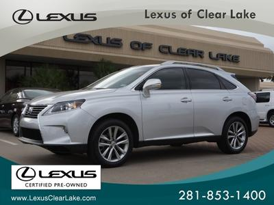 2013 Lexus RX 350 SUV for sale in Houston for $45,995 with 15,327 miles.