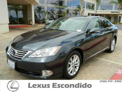 2011 Lexus ES 350 Base Sedan for sale in Escondido for $29,499 with 33,515 miles.