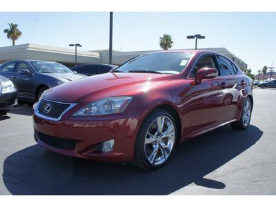 2010 Lexus IS 350 Sedan for sale in Cathedral City for $28,500 with 36,090 miles.