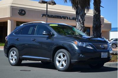 2010 Lexus RX 350 SUV for sale in Santa Rosa for $33,795 with 39,340 miles.