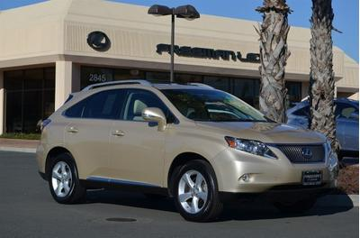 2010 Lexus RX 350 SUV for sale in Santa Rosa for $31,985 with 57,209 miles.