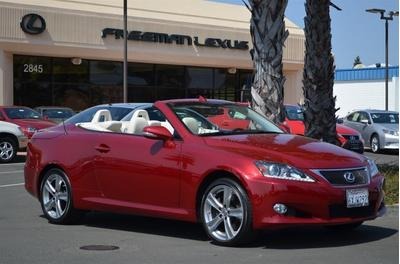 2012 Lexus IS 350C Base Convertible for sale in Santa Rosa for $44,995 with 5,879 miles.