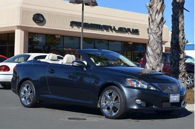 2010 Lexus IS 250C Convertible for sale in Santa Rosa for $29,475 with 50,907 miles.