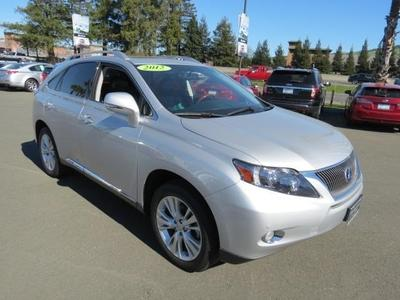 2012 Lexus RX 450h Base SUV for sale in Santa Rosa for $50,495 with 11,088 miles.