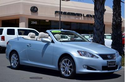 2010 Lexus IS 250C Convertible for sale in Santa Rosa for $33,975 with 41,870 miles.