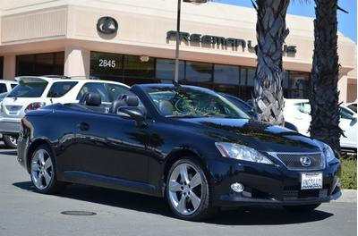 2010 Lexus IS 250C Convertible for sale in Santa Rosa for $32,975 with 28,335 miles.