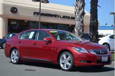 2011 Lexus GS 450h Base Sedan for sale in Santa Rosa for $41,995 with 23,901 miles.