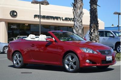 2010 Lexus IS 350C Convertible for sale in Santa Rosa for $38,975 with 5,074 miles.