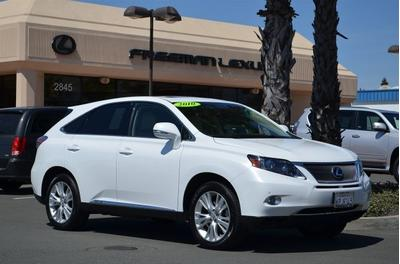 2010 Lexus RX 450h SUV for sale in Santa Rosa for $38,985 with 42,925 miles.