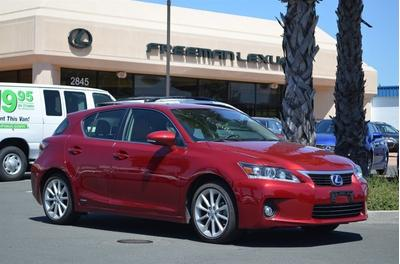 2013 Lexus CT 200h Premium Hatchback for sale in Santa Rosa for $29,875 with 11,651 miles.