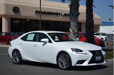 2014 Lexus IS 250 Base Sedan for sale in Santa Rosa for $38,975 with 9,821 miles.