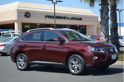 2013 Lexus RX 350 SUV for sale in Santa Rosa for $42,975 with 17,133 miles.