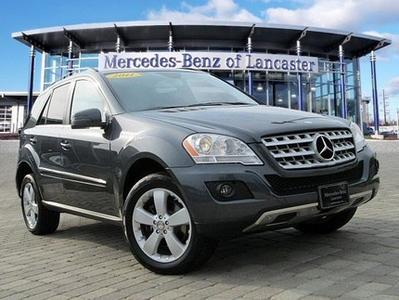 2011 Mercedes-Benz M-Class ML350 SUV for sale in East Petersburg for $34,991 with 38,889 miles.