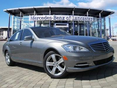 2010 Mercedes-Benz S-Class S550 Sedan for sale in East Petersburg for $42,900 with 56,746 miles.