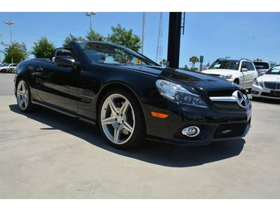 2011 Mercedes-Benz SL-Class SL550 Convertible for sale in Myrtle Beach for $65,145 with 27,145 miles.