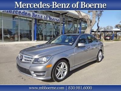 2013 Mercedes-Benz C-Class C250 Sedan for sale in Boerne for $29,888 with 14,570 miles.