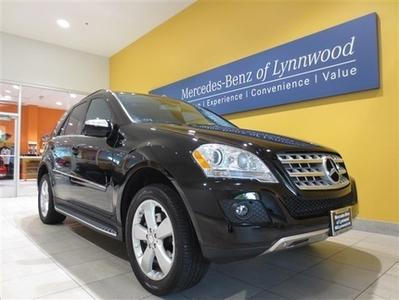 2010 Mercedes-Benz M-Class ML350 SUV for sale in Lynnwood for $39,999 with 37,473 miles.