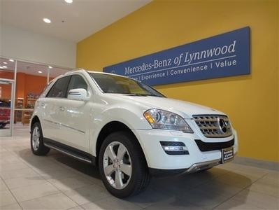 2011 Mercedes-Benz M-Class ML350 SUV for sale in Lynnwood for $39,999 with 32,693 miles.